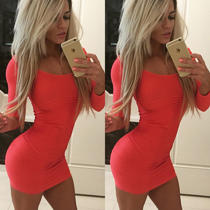 a427d828e1e Sexy Women s Sleeveless Bandage Bodycon Evening Party Cocktail Club Mini  Dress